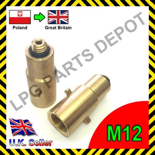 M12 LPG Adaptador Polonia a Reino Unido Gran Bretaña gas Autogas przejscie Polsky do GB
