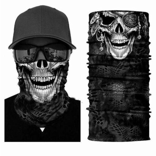 Multiused Face Scarf Neck Gaiter Balaclava Neckerchief Headwear Headband SPF40