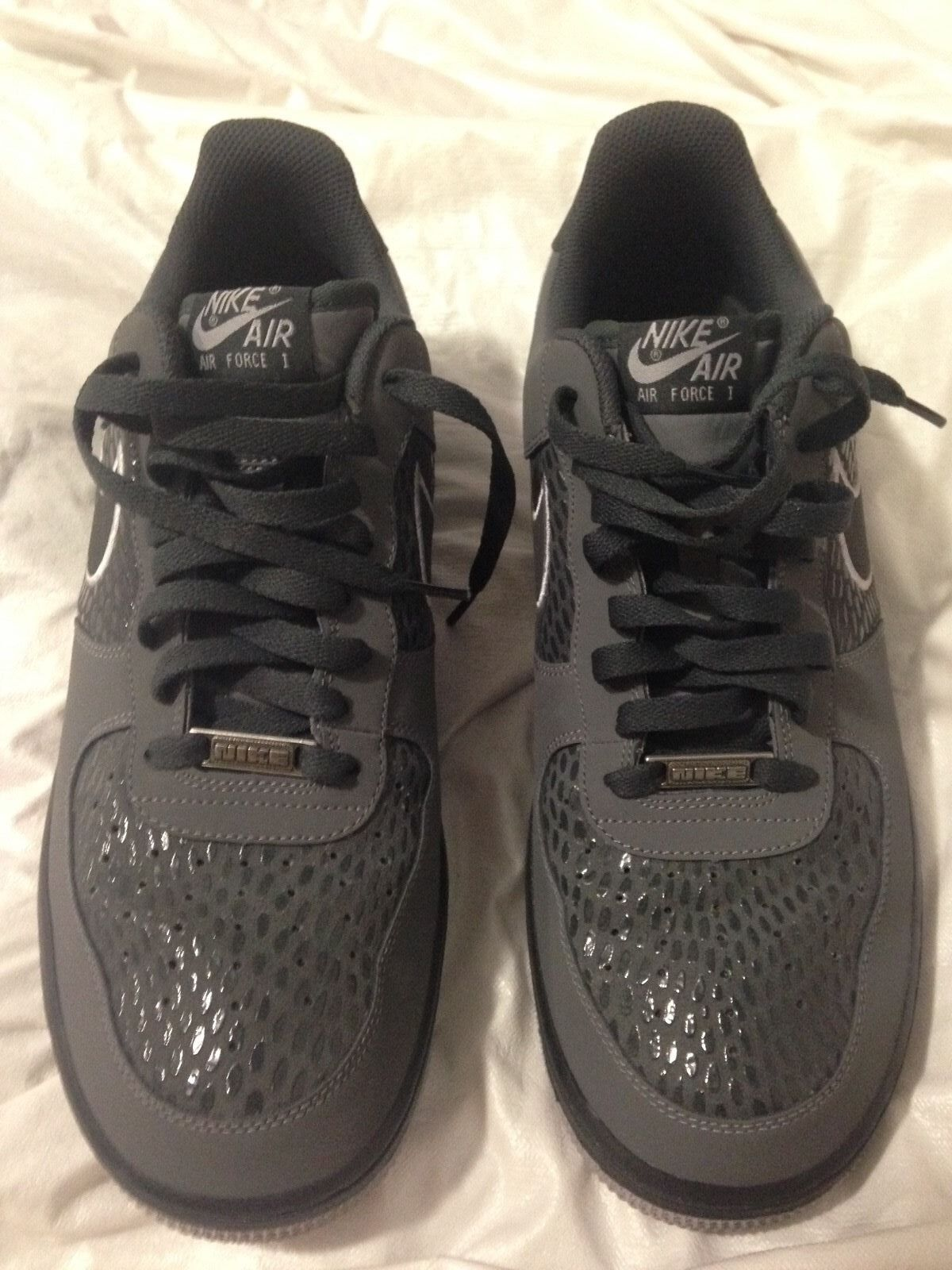 The most popular shoes for men and women Nike Air Force 1 Scales Pack Grey/Anthracite/Wolf Grey 488298-044 Comfortable