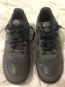 d1ed8650680dd0 Nike Air Force 1 Scales Pack Grey Anthracite Wolf Grey 488298-044 ...