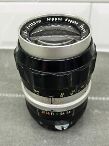 Nikon-Nikkor-Q-f-3-5-135mm-Nippon-Kogaku-Japan-Lens-Non-AI-13-5cm-1-3-5