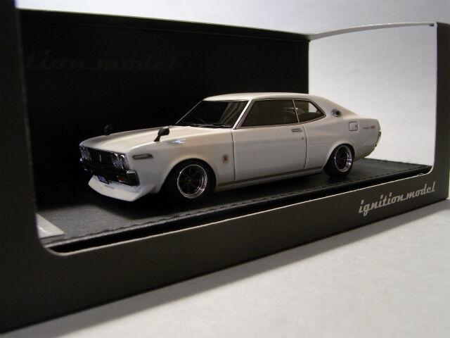 1 43 HPI IG Model Nissan Laurel 2000SGX (C130)bianca IG0138 GS