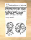 A Description of the Human Eye, and Its Adjacent Parts; Together with Their Principal Diseases, and the Methods Proposed for Relieving Them. by Joseph Warner, ... the Second Edition, Revised and Corrected. by Joseph Warner (Paperback / softback, 2010)