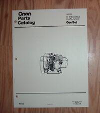 onan mdkbk specs a marine genset illustrated parts catalog manual rh ebay com onan mdkav service manual Onan Generator Parts
