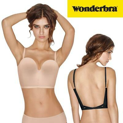 Wonderbra Ultimate Backless Bra W08KZ Underwired Lightly Padded Womens Lingerie