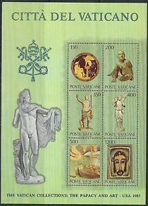 Gestempelt 1983 Vatikanische Kunstwerke kompl.ausg. Vatikanstaat Block7
