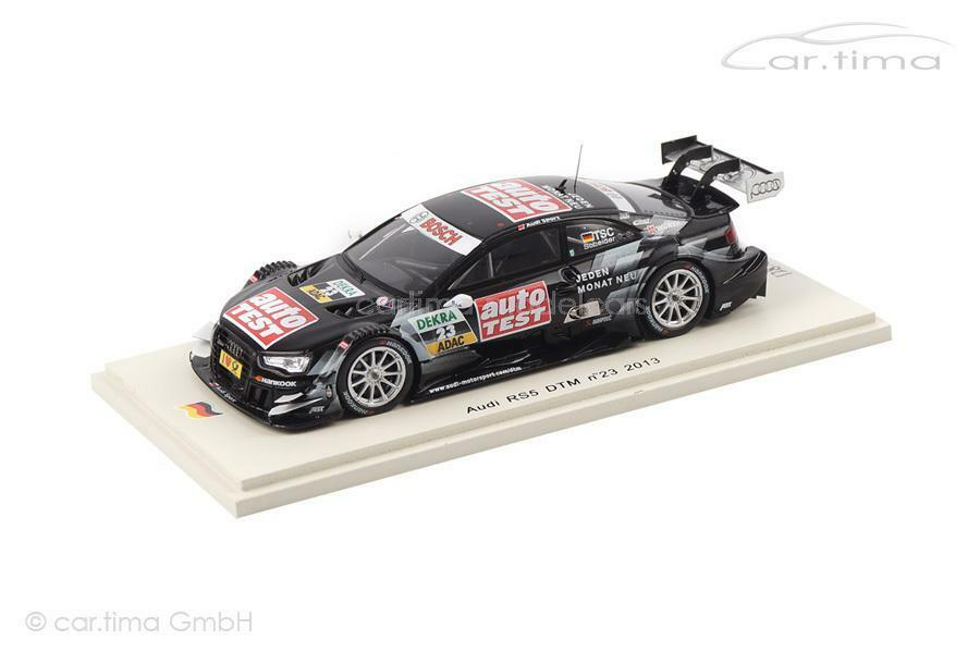 AUDI rs 5-DTM 2013-timo solivore - 1 of 500-spark - 1 43