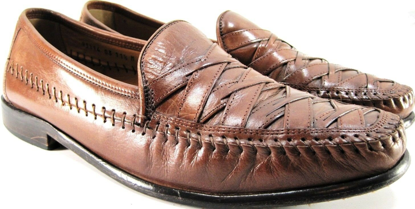 Brass Boot Uomo Loafer Shoes Size Size Size 11.5 M Brown Style 93114 e9d838