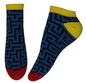 Blue-Maze-Don-039-t-Get-Lost-Ankle-Socks