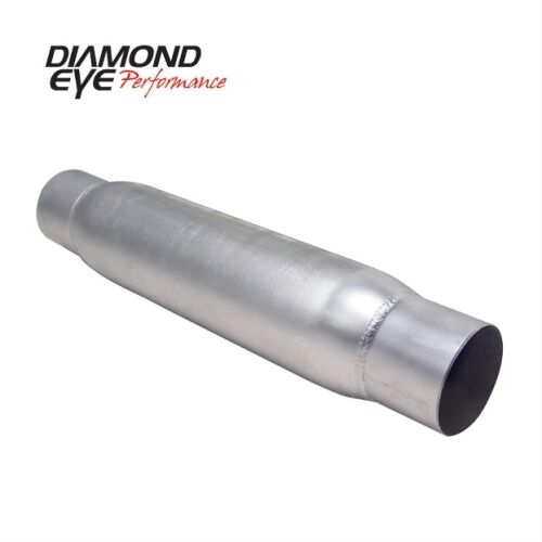 """Aluminized With Ends Diamond Eye 400405 4/"""" Quiet Tone Resonator Single In//Out"""