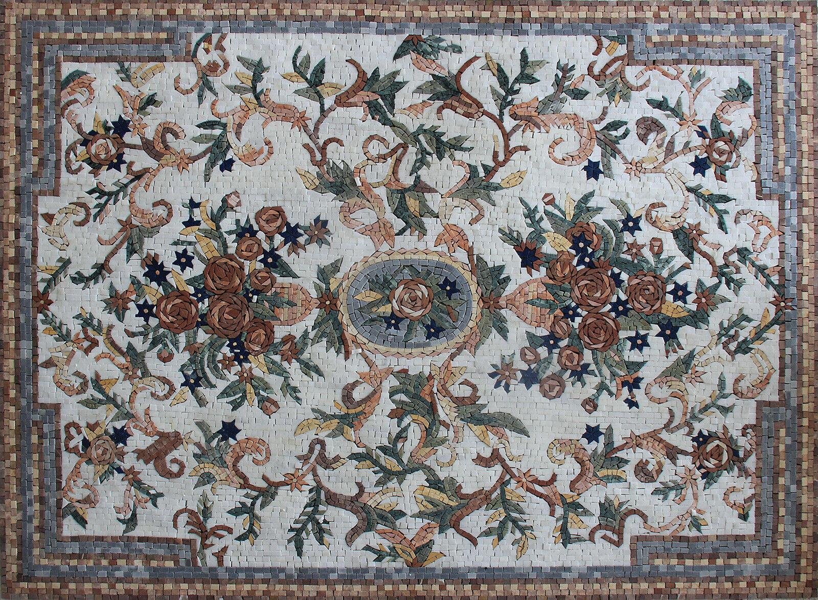 Image 1 - Floor Carpet Mosaic Handmade Marble Tile FL533