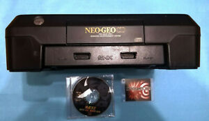 NEO-GEO-CD-FRONT-LOADING-JUNK-FOR-REPAIR-NEOGEO-SNK