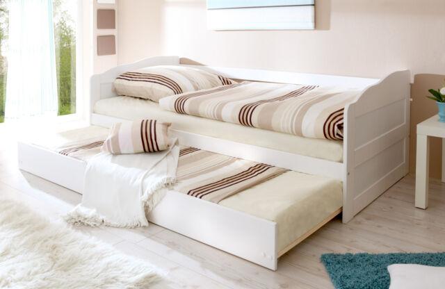 P25W Funktions-Bett Jugendbett Gästebett Einzelbett Kinderbett Holzbett Kiefer