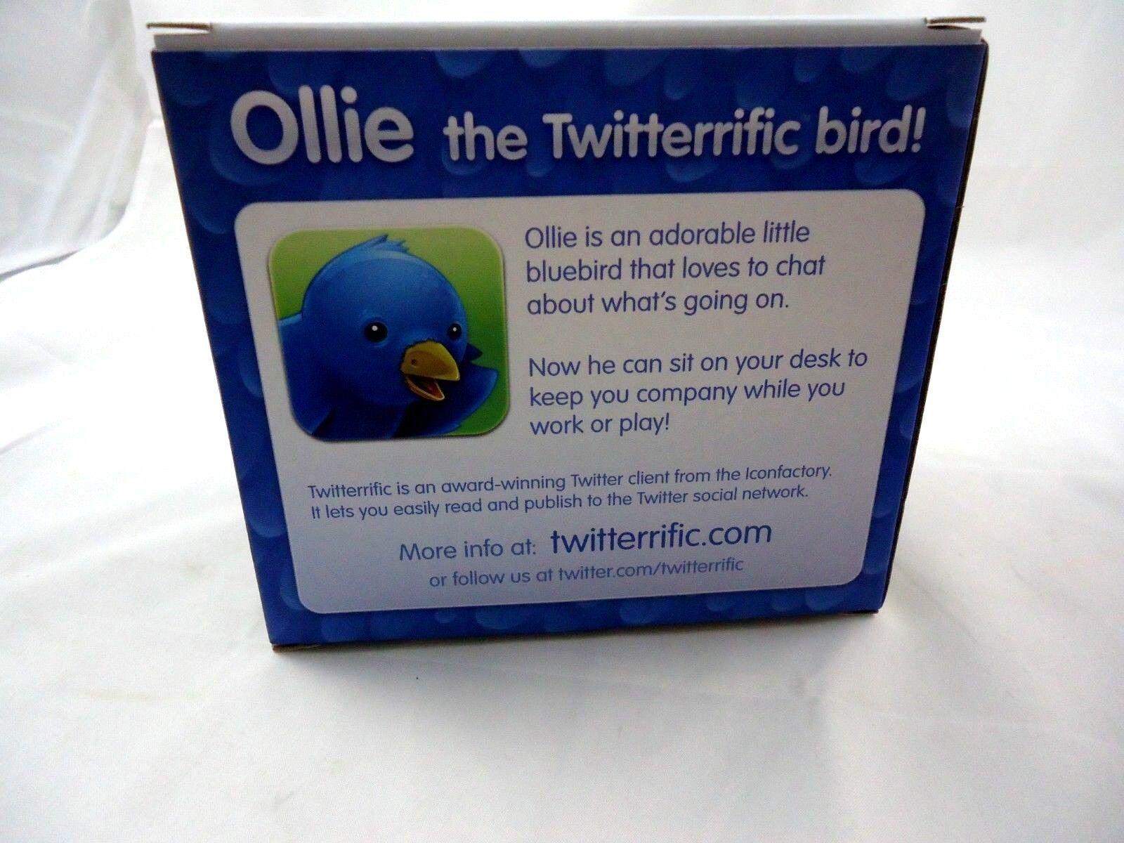 Ollie The Twitterrific edition Bird limited edition Twitterrific vintage monochrome edition le 100 b7b7a1