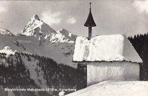 Bergkirchlein Matschwitz, Vorarlberg gl1964 F9527