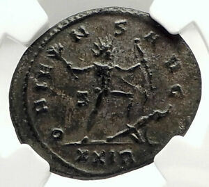 AURELIAN-Authentic-Ancient-274AD-Rome-Genuine-Roman-Coin-SOL-ENEMY-NGC-i76294