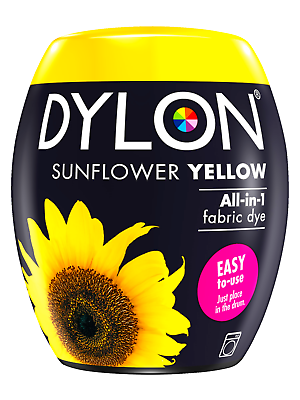 DYLON 350g Sunflower Yellow Machine Dye Pod | eBay