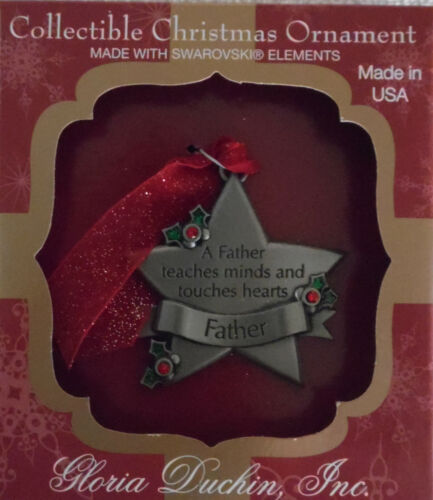 """C-1423 Very Cute Christmas Ornament /""""Father/"""""""