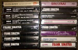 LOT-OF-20-DIFFERENT-FRANK-SINATRA-CASSETTE-TAPES