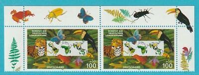 Liefern Bund Aus 1996 ** Postfrisch Minr. 1867 Umweltschutz Bogenoberrand