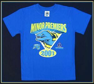 57aa18ff9181 NRL PARRAMATTA EELS T-Shirt 2001 Minor Premier Kids 14c w tag -NEW ...