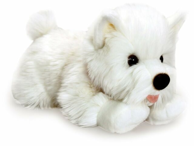 KEEL 35cm ANGUS THE WESTIE - PLUSH WEST HIGHLAND TERRIER DOG SOFT TOY - NEW GIFT