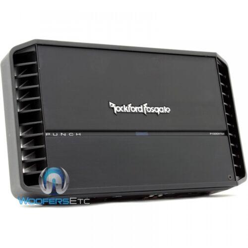 ROCKFORD FOSGATE P1000X1BD PUNCH MONOBLOCK 2000W MAX SUBWOOFERS BASS AMPLIFIER