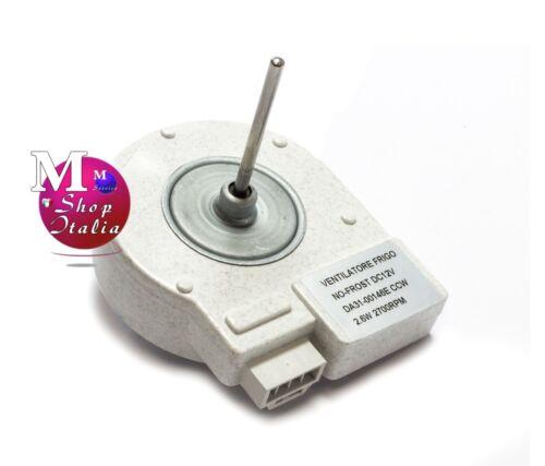 VENTILATORE FRIGO NO-FROST SAMSUNG DA31-00146E LATO COMPRESSORE 12V 2700RPM