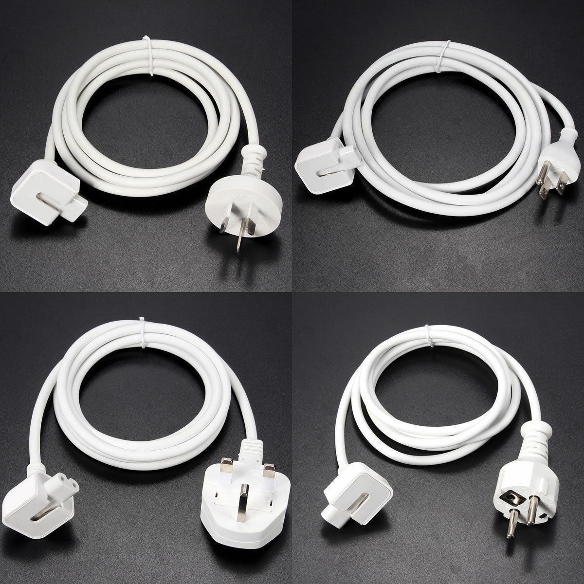 Power Adapter Charger Extension Cable for Apple iPad Mini  Air Mac book Pro