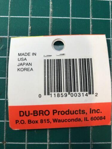 "Du-bro 4-40 X 1-1//2/"" Socket Head Cap Screws 4 Pack"