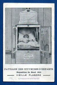 Esposizione-1913s-Couveuse-Vintage-Cartolina-751