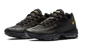 best sneakers 8d29c bd8ed Image is loading Nike-Air-Max-95-Ultra-EU-Black-Amarillo-