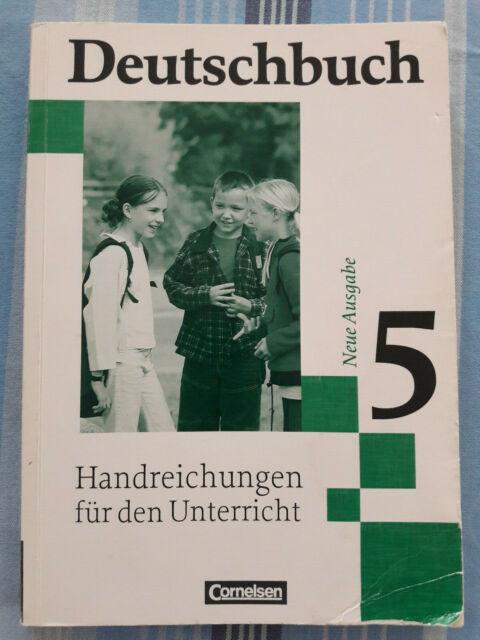 Deutschbuch Cornelsen Neue Ausgabe 5 Lehrerhandbuch