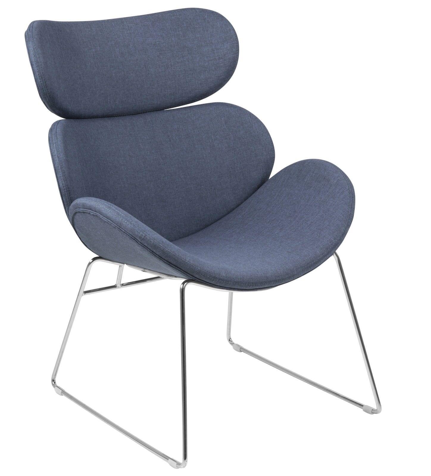 Pkline sillón Cazy descanso en azul oscuro sillón sillón de descanso Cazy fbaa5e