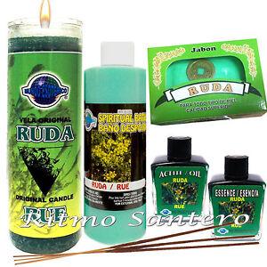 Details about RUE-RUDA Magic Set 7 Day Candle Spiritual Soap Oil- Bath Kit  Vela Aceite Jabon