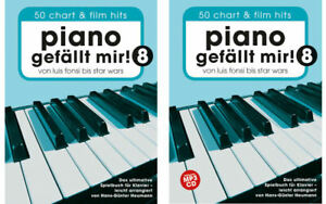 Piano-gefaellt-mir-Band-8-50-Chart-und-Film-Hits-1-Bleistift-034-Musikmotiv-034