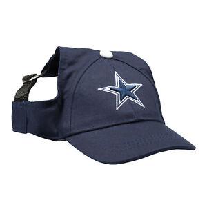 Dallas-Cowboys-NFL-Licensed-LEP-Dog-Pet-Baseball-Cap-Hat-Blue-Sizes-S-XL