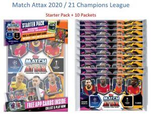 2020-21-Match-Attax-Champions-League-Soccer-Cards-Starter-Pack-10-Packets