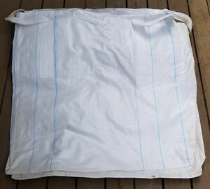Top cover-Bottom spout Ton 3000LB SWL Sack Heavy Duty Bulk bag 35x35x36 FIBC