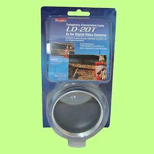 Kenko-LD-20T-2x-Telephoto-Conversion-Lens-for-52mm-Digital-Video-Camera