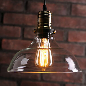 edison bulb pendant lighting. image is loading vintageretroindustrialceilingpendantlightlampglass edison bulb pendant lighting