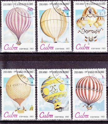 Ballons: Kompletter Satz: Ballons 1983 Globos шарики Balões C993
