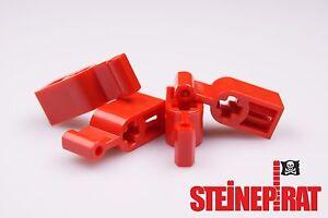 LEGO-4x-6641-NEU-Technic-Getriebe-Stellhebel-Hebel-Kupplung-rot-4270473