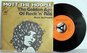 7-034-Vinyl-MOTT-THE-HOOPLE-The-Golden-Age-Of-Rock-n-Roll