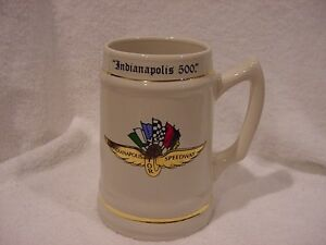 GORGEOUS Circa 2008 Indianapolis 500 Racing Champions Stein, MINT!!