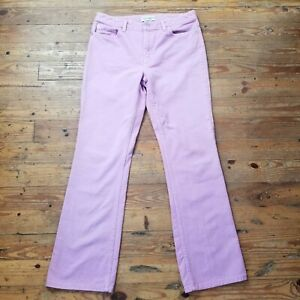 Lavender-Womens-London-Jean-Original-Classic-Size-10-Boot-Cut-Jeans