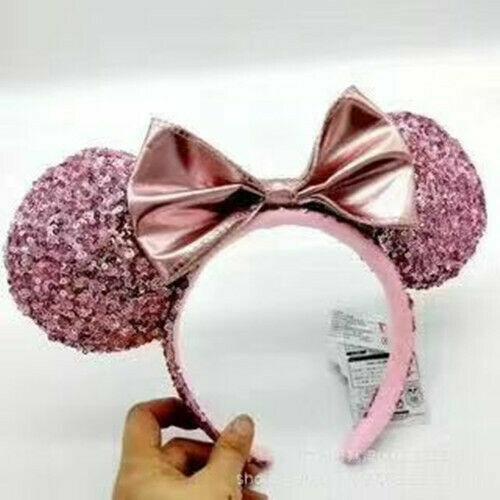 NEW Disney Parks Minnie Mouse Ears Headband Bow Christmas Holiday