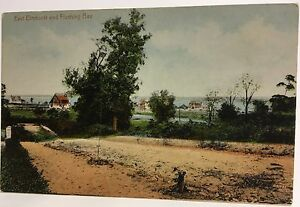 Queens-New-York-City-NY-Elmhurst-and-Flushing-Bay-Early-Postcard-View