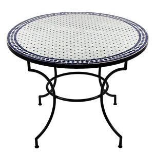 Marokkanischer Mosaiktisch Gartentisch Esstisch Mosaik Tisch Orient