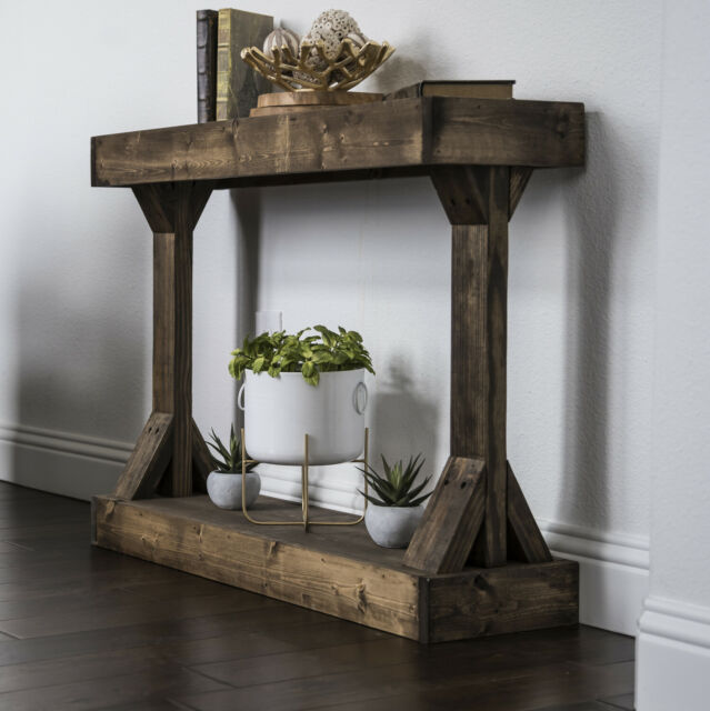 Edolie Console Table Wood Entryway Sofa Accent Hallway w/Drawer